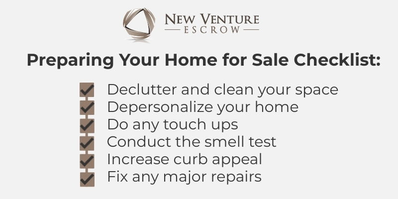 preparing your home for sale checklist
