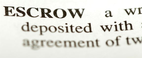escrow-defined
