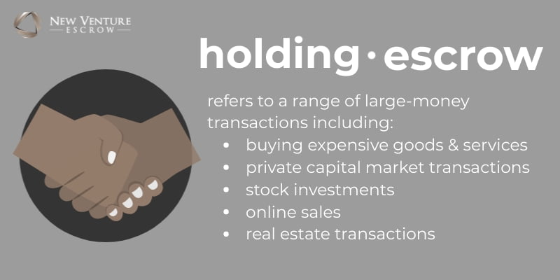 what is holding escrow