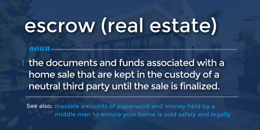 definition-of-escrow-in-real-estate